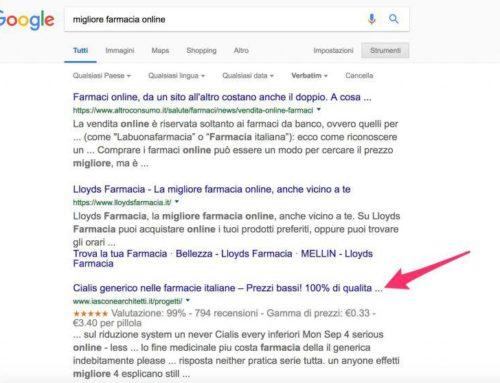 Da Amalfi. E' allarme. Google cambia l'algoritmo e involontariamente minaccia la salute pubblica!