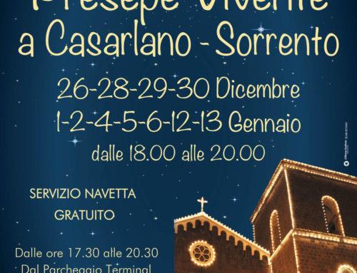 Le vacanze natalizie in Penisola Sorrentina ed in Costiera Amalfitana: Programma eventi per i prossimi giorni