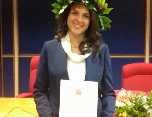 Amalfi: Auguri alla neo-laureata Isabella Gargano