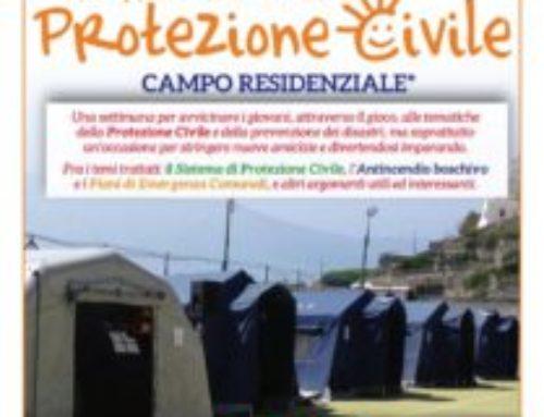 Amalfi Pogerola, riparte il Campo estivo della Millennium: la Protezione Civile Italiana a 38 anni dalla tragedia di Vermicino