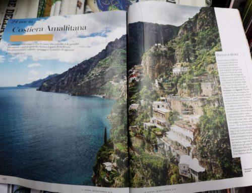 """""""Io Donna"""" dedica due pagine alla Costiera Amalfitana e Positano"""