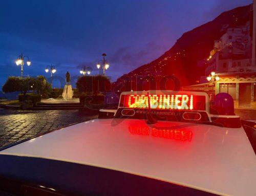 Amalfi. Coronavirus, serrati controlli dei Carabinieri per il rispetto delle norme finalizzate al contenimento del contagio