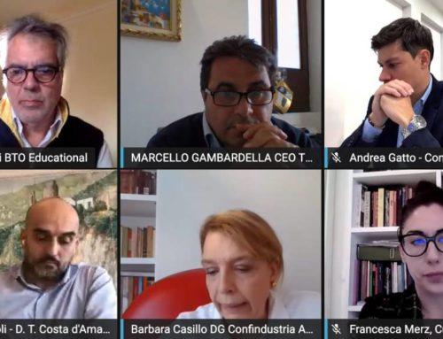 """Costa d'Amalfi. Emergenza Coronavirus, il live con il Webinar """"Decreto Cura Italia"""". Per il turismo non basta.  Le Slide e il video"""