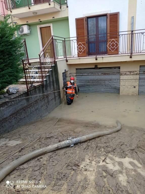 La P.A. Millenium Costa d'Amalfi dopo la prima giornata operativa a Crotone