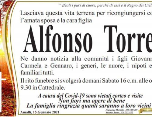 Amalfi piange la scomparsa di Alfonso Torre