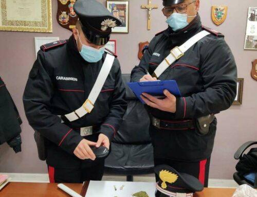 Minori, Carabinieri denunciano 46enne: nascondeva la droga in barberia