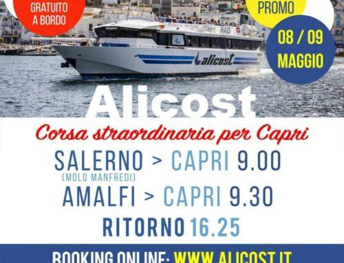 Alicost, si riparte da Salerno e dalla Costiera Amalfitana per Capri, Ischia e l'arcipelago delle Eolie