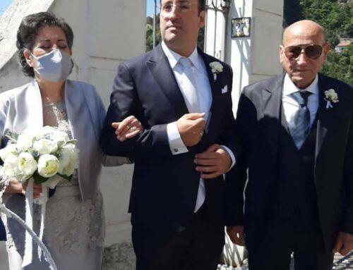 Amalfi: tanti auguri a Gianmaria Grimaldi e Romina Lucibello, oggi sposi!